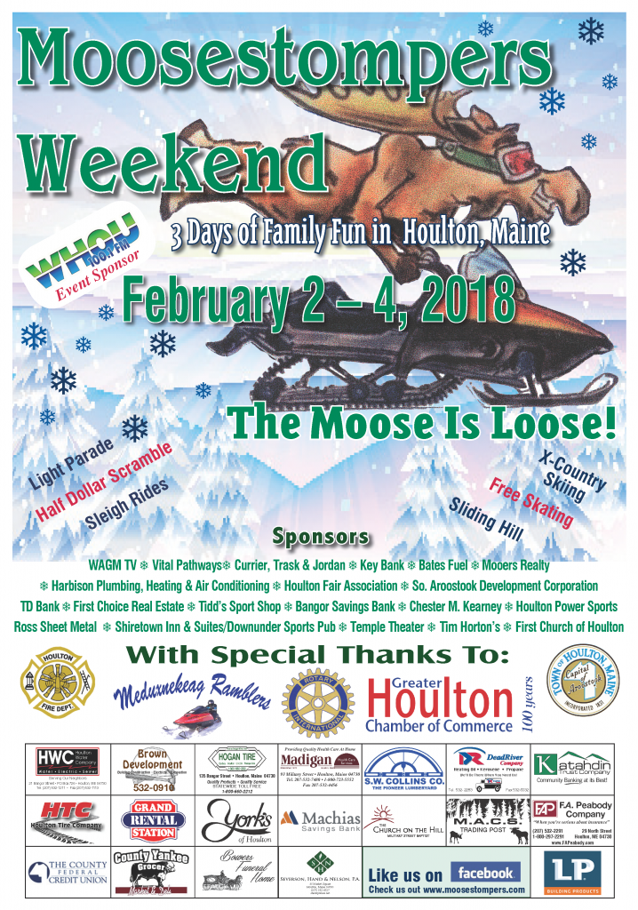 2018 Moosestompers Poster